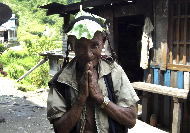 Anciano-nepal