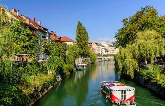 Ljubljana, canales
